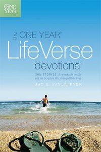 The One Year Life Verse Devotional book cover