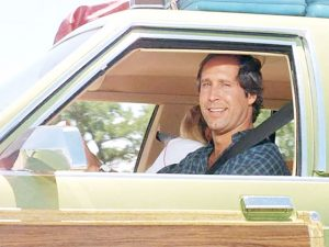 Griswald dad in car