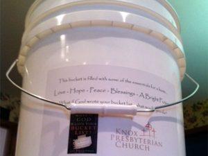 Knox Presbytarian Church Bucket